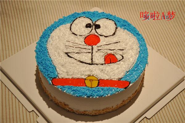 哆啦a梦 - 卡通蛋糕 - 邢台蛋糕店|邢台生日蛋糕|邢台